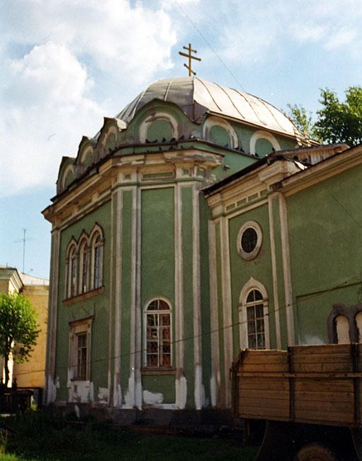 Скорбящеский храм, снимок 90-х годов