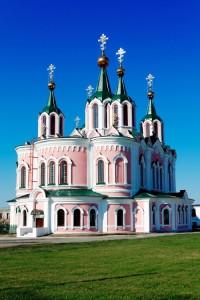 Скорбященский храм Далматовского мужского монастыря