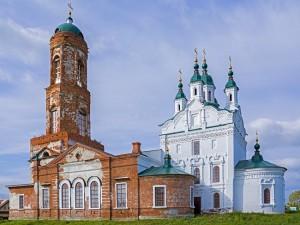 Иоанно-Предтеченская церковь с. Широковского Шадринского уезда