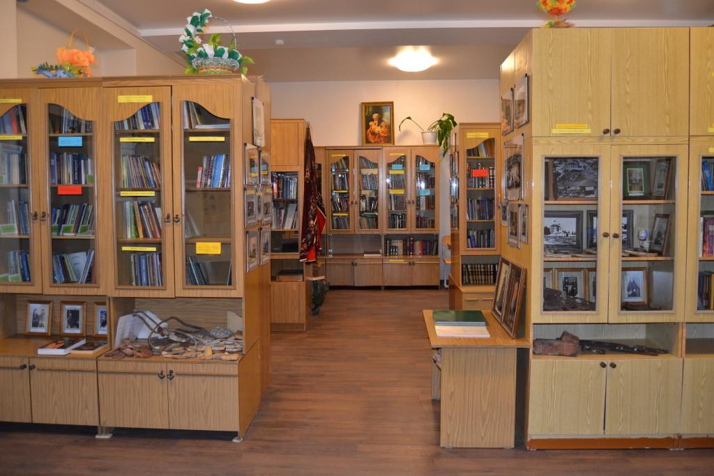 В библиотеке Скорбященского монастыря развернута музейная экспозиция